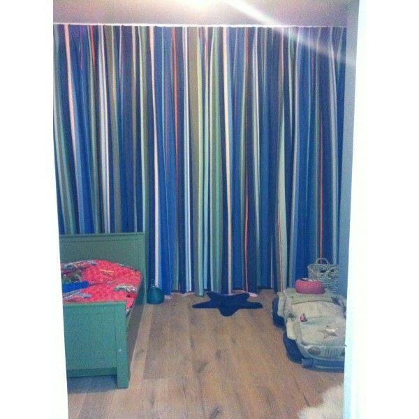 katoenen gestreepte stof Roy van kleurmeester.nl 180 cm breed ...