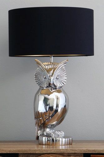 love this owl lamp. It's perfect for any living room big or small.  must.have.this.