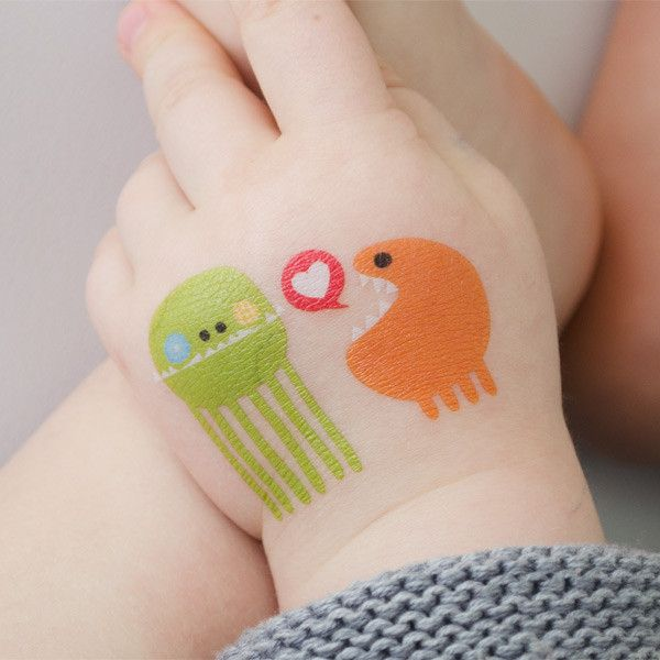 Awesome temporary tattoos from tattly all designed by indie artists.