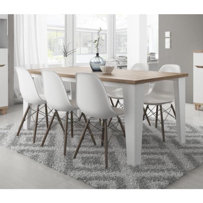 table manger scandinave de la gamme lier 160cm dimensions longueur 160 cm largeur 90. Black Bedroom Furniture Sets. Home Design Ideas