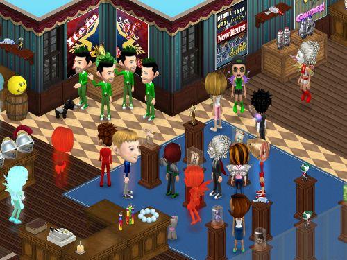 avatars free games and virtual worlds