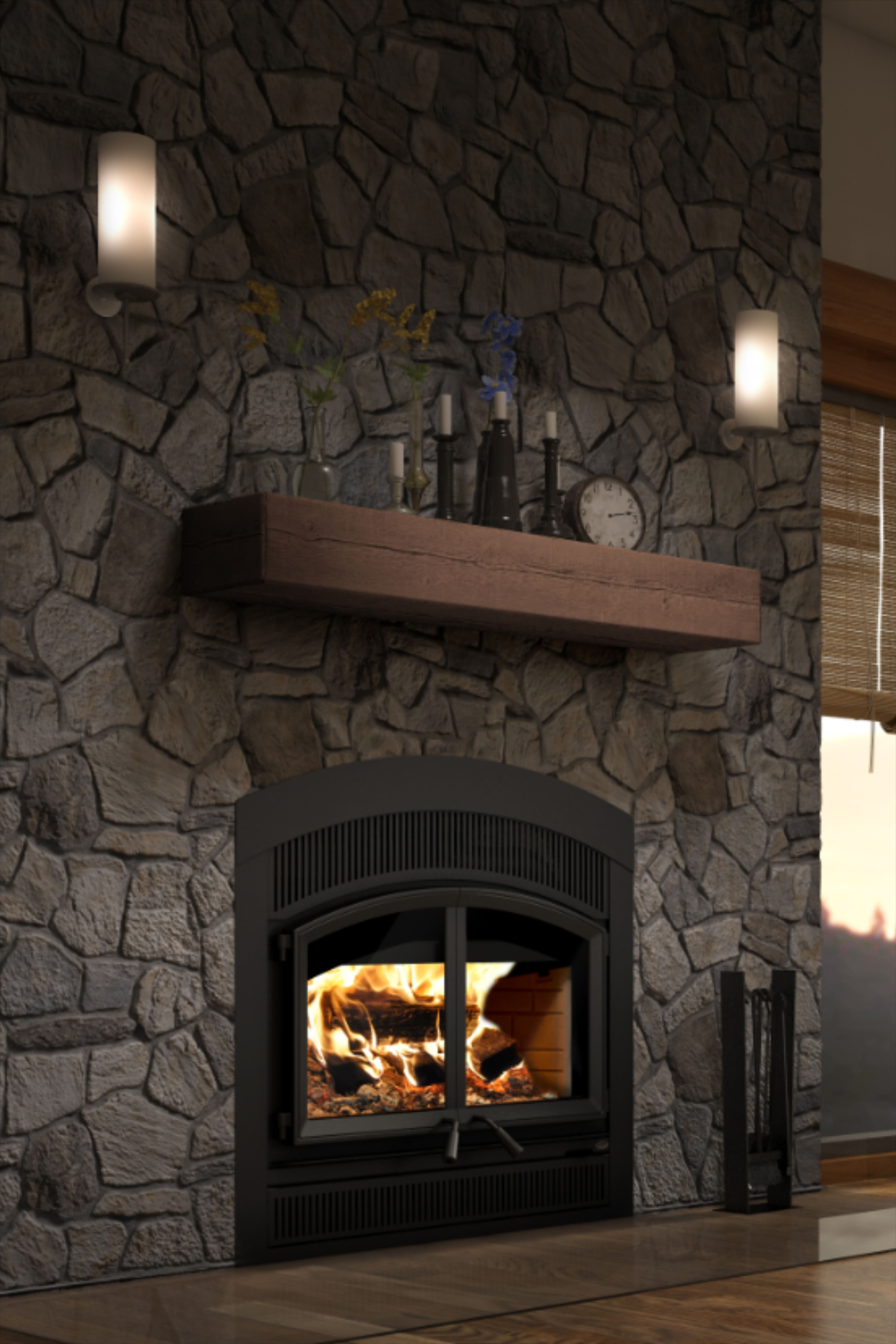 FP15A | WATERLOO ARCHED WOOD FIREPLACE