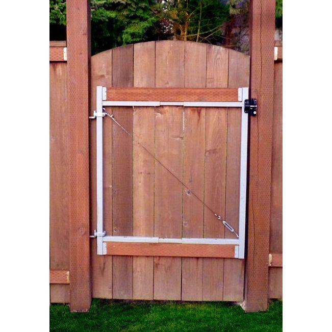 Adjust-A-Gate 47 in. H x 60 - 96 in. W Original Series 2-rail Adjustable Gate Frame Kit (