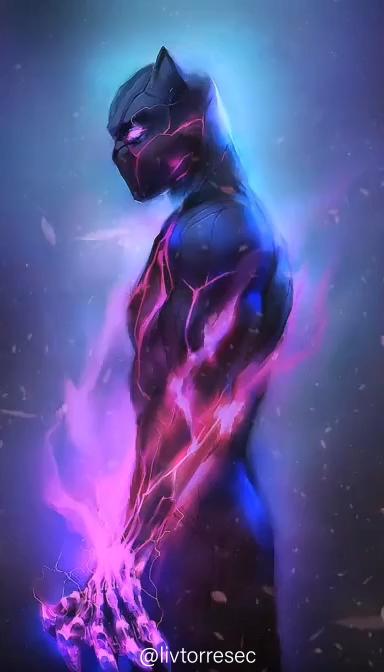 Black Panther Wallpaper Animado Black Panther Hd Wallpaper Black Panther Marvel Marvel Comics Wallpaper