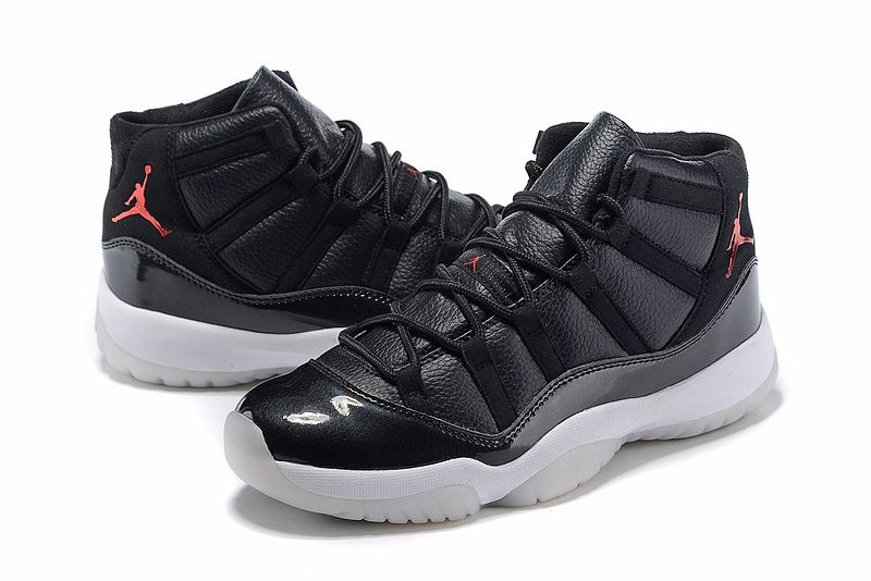 85d39a03f705 Air Jordan 11 72 10 Black Gym Red White Anthracite 378037 002 Hot Sale