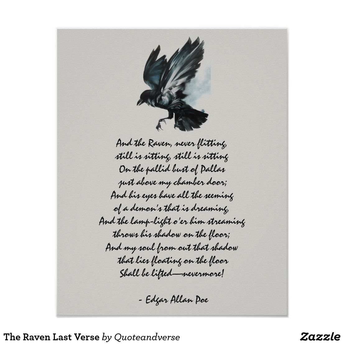 The Raven Last Verse Poster