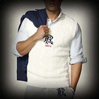 Ralph Lauren Rugby メンズ ニット ラルフローレンラグビー Linen-Cotton Cricket Vest ニット ベスト-アバクロ 通販 ショップ #ITShop