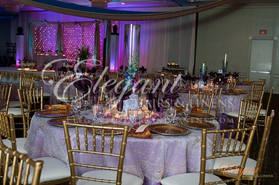 Wedding And Event Linens In Atlanta Ga Linens And Chiavari Chair Rental Atlanta Ga Www Elegantchairs Linenrenta With Images Elegant Chair Linen Rentals Event Table