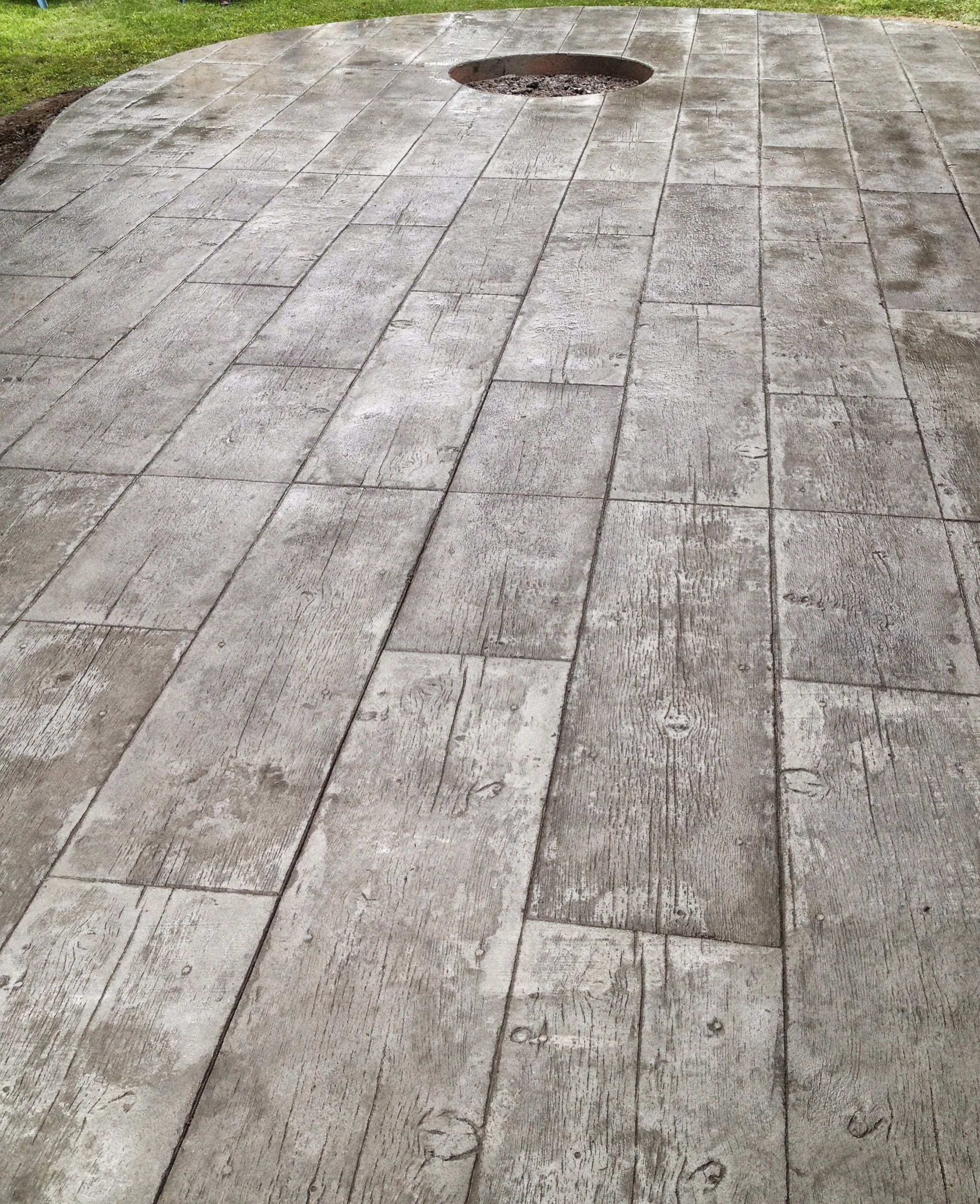 Stamped Concrete Wood Pattern Amazing Design Inspiration