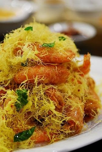 Nestum Butter Prawn Is A Relatively New Malaysian Creation Combining The Best Of Malay Chinese Indian And Western Ingredient Prawn Dishes Food Asian Cooking