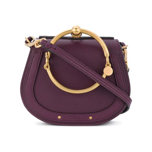 Nile shoulder bag - Pink & Purple Chloé 7BMkjT0Gvk