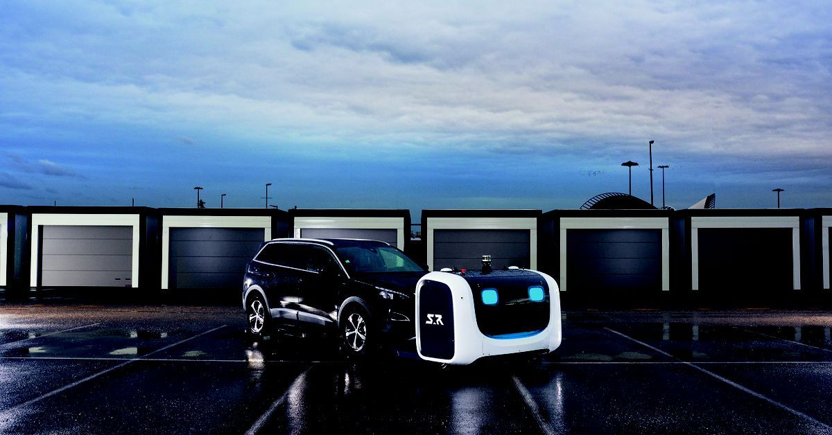 stanley robotics says its self driving valets are more efficient than their human equivalentsnext time you head to the airport in car ins valet robot pinterest