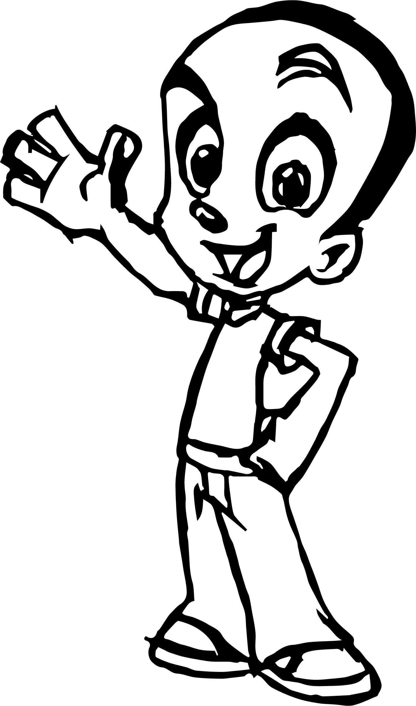 22+ Cartoon character coloring pages info