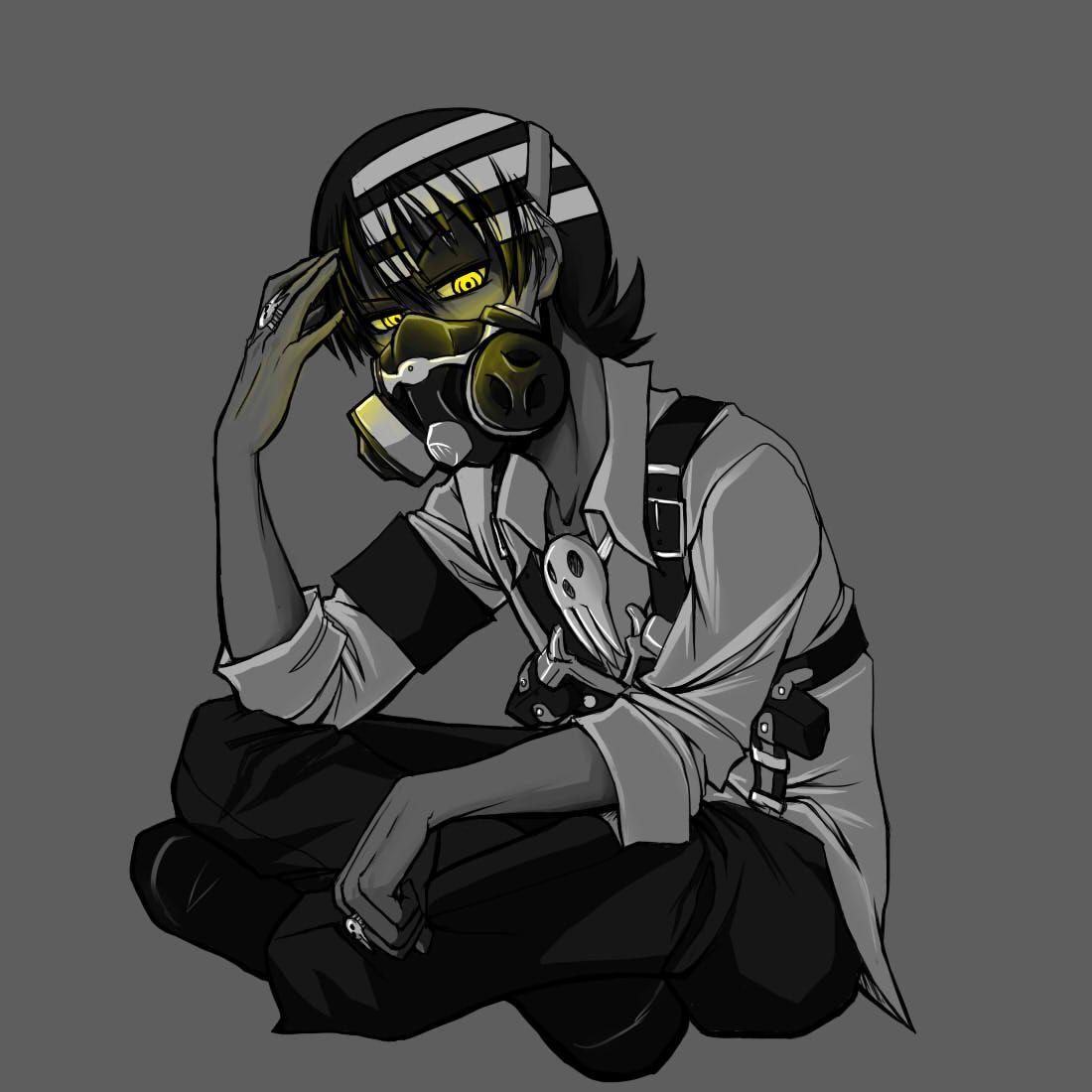 Death the Kid, radioactive soul eater Pinterest Soul