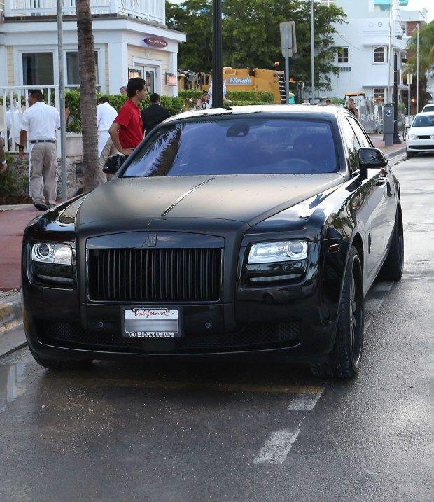 Kanye West with his Kim Kardashian | Luxury Car Obsession ...