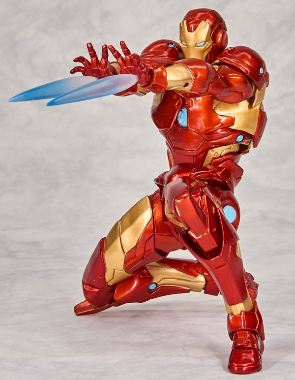 New Marvel Amazing Yamaguchi Revoltech Bleeding Edge Armor Iron Man Figure Images Iron Man Male Figure Marvel