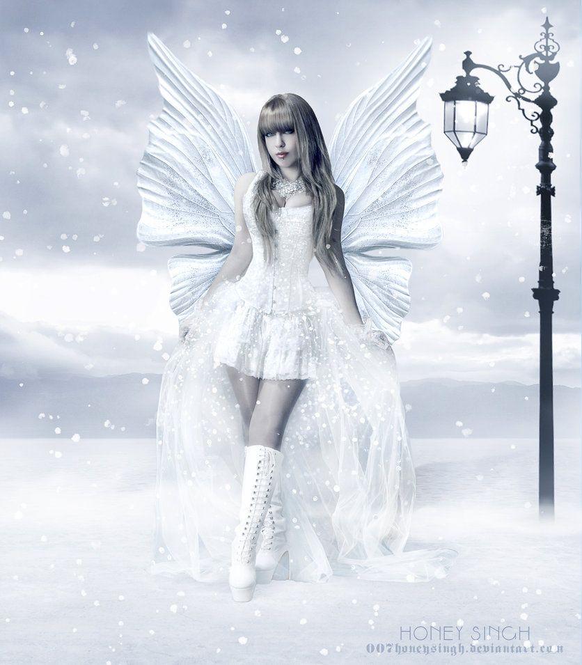 Snow Fairy   Snow Fairy by 007HoneySingh on DeviantArt