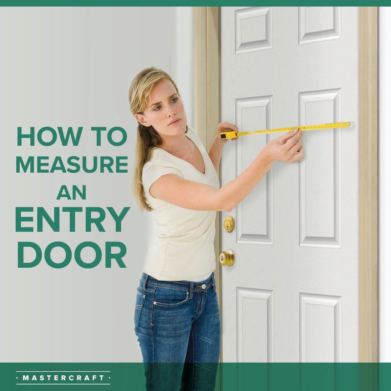 How to measure an entry door in 2020 entry doors doors
