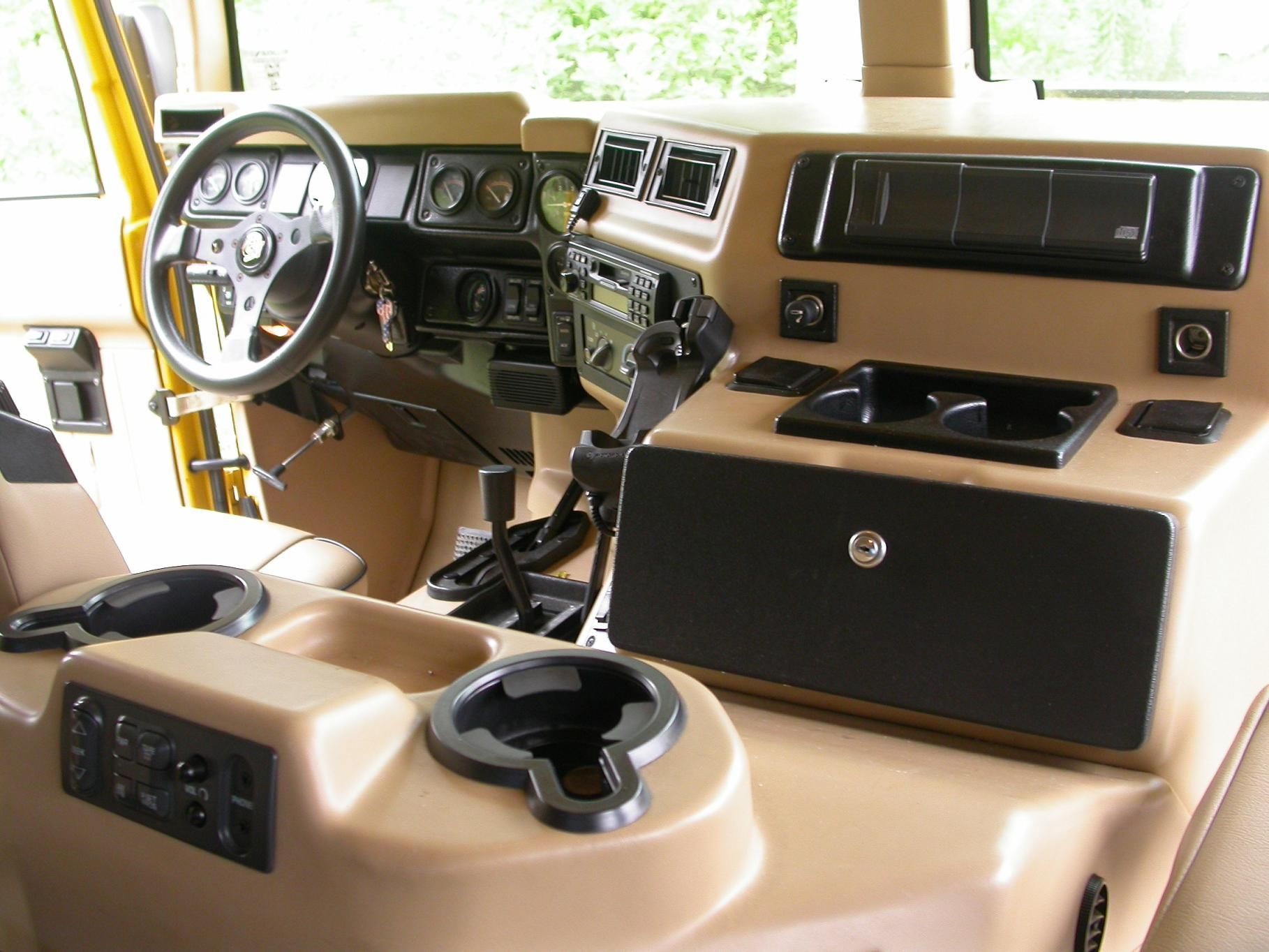Attractive Hummer H1 Interior Pictures