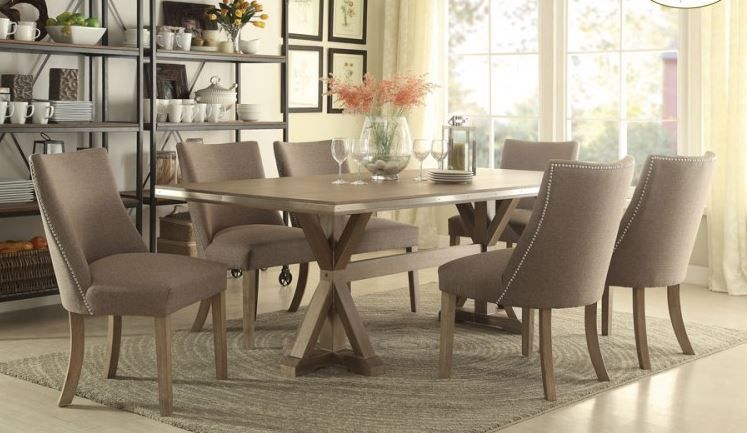 Beaugrand Collection Five Piece Dining Table Set H5177-84 - SAVVY SHOPPER DIRECT