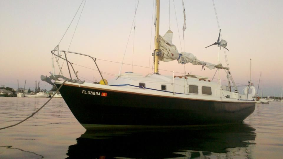 Morris: our old Westerly Centaur 26  Miss this boat