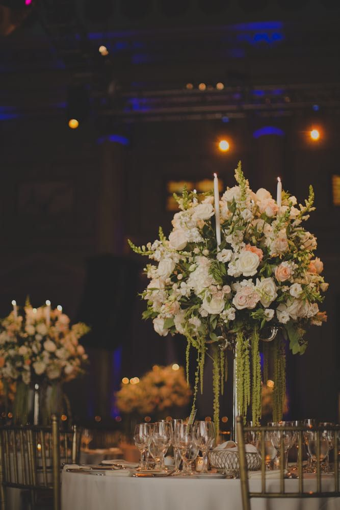 Elegant New York City Wedding At Capitale.......