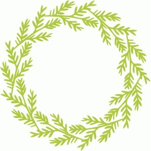 Christmas Wreath Silhouette.Silhouette Design Store View Design 52943 Christmas Leaf