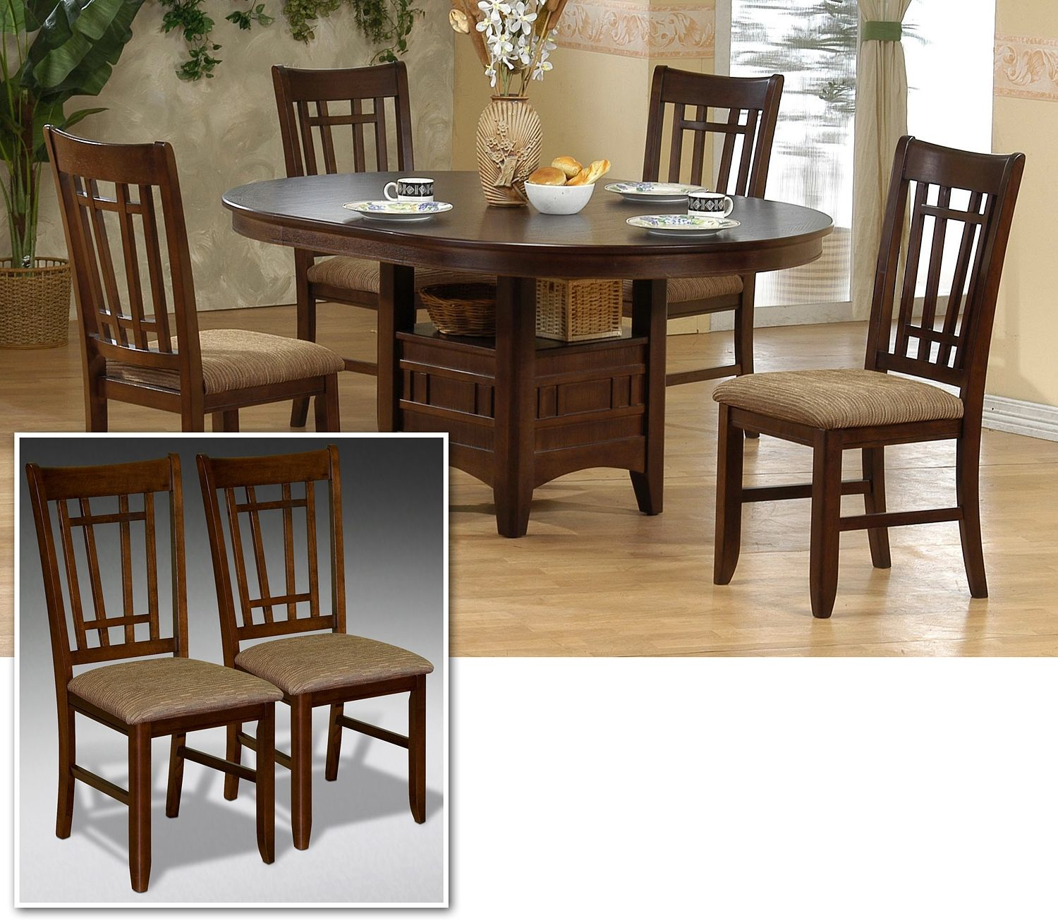 Winston Casual Dining 7 Pc. Dinette - Sears Furniture ...