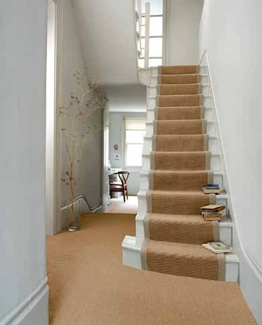Best Sisal Stair Runner In Oatmeal Stairs Stair Runner Carpet 400 x 300