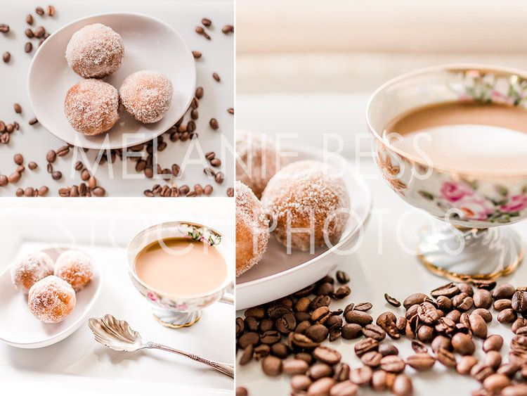 Coffee And Donuts Stock Photography Branding For Coffee Shop