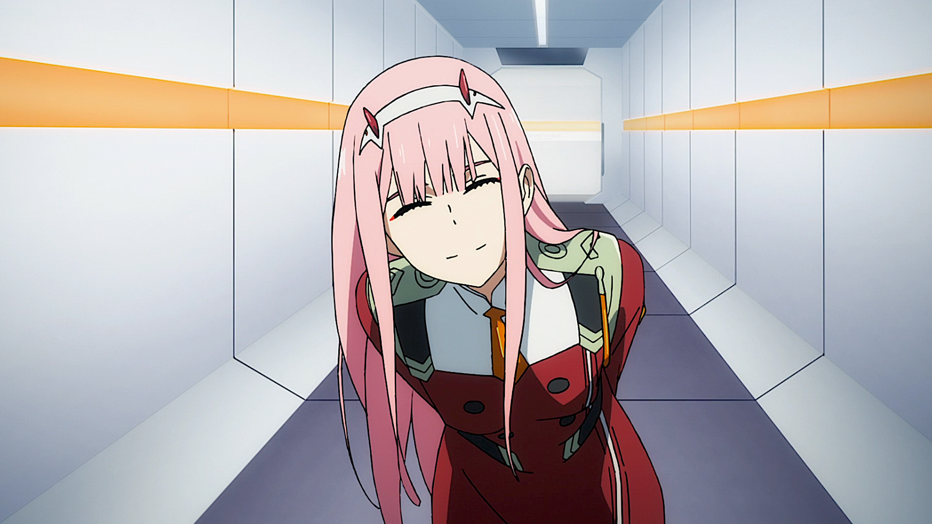 Anime Darling in the FranXX Zero Two (Darling in the