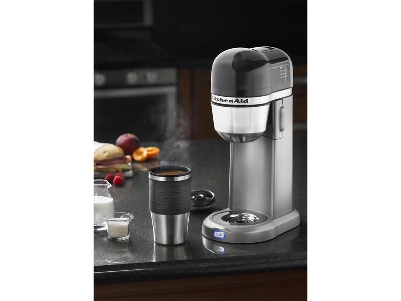 Kitchenaid Coffee Maker Cleaner : It comes with the travel mug! Nice!! Personal Single Serve Coffee Maker: Kitchen Aid @ Food ...