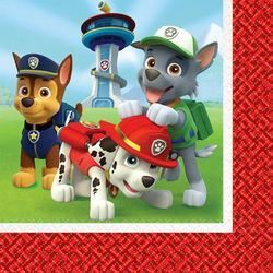 Paw Patrol Luncheon Napkins [16 Per Pack]