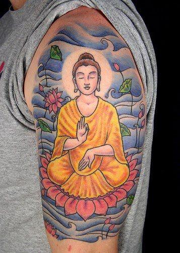 Thai buddha tattoo free thailand tattoo tattoospiercings thai buddha tattoo free thailand tattoo buddha tattoo designlotus flower mightylinksfo