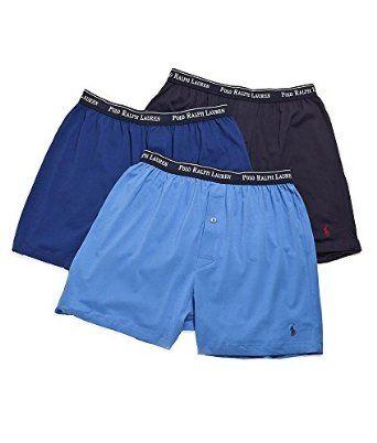 4d7ee3ab7f7d0 Polo Ralph Lauren Men`s 3 Pack Classic Cotton Woven Black Boxer Shorts  (RY73BK): Amazon.co.uk: Clothing