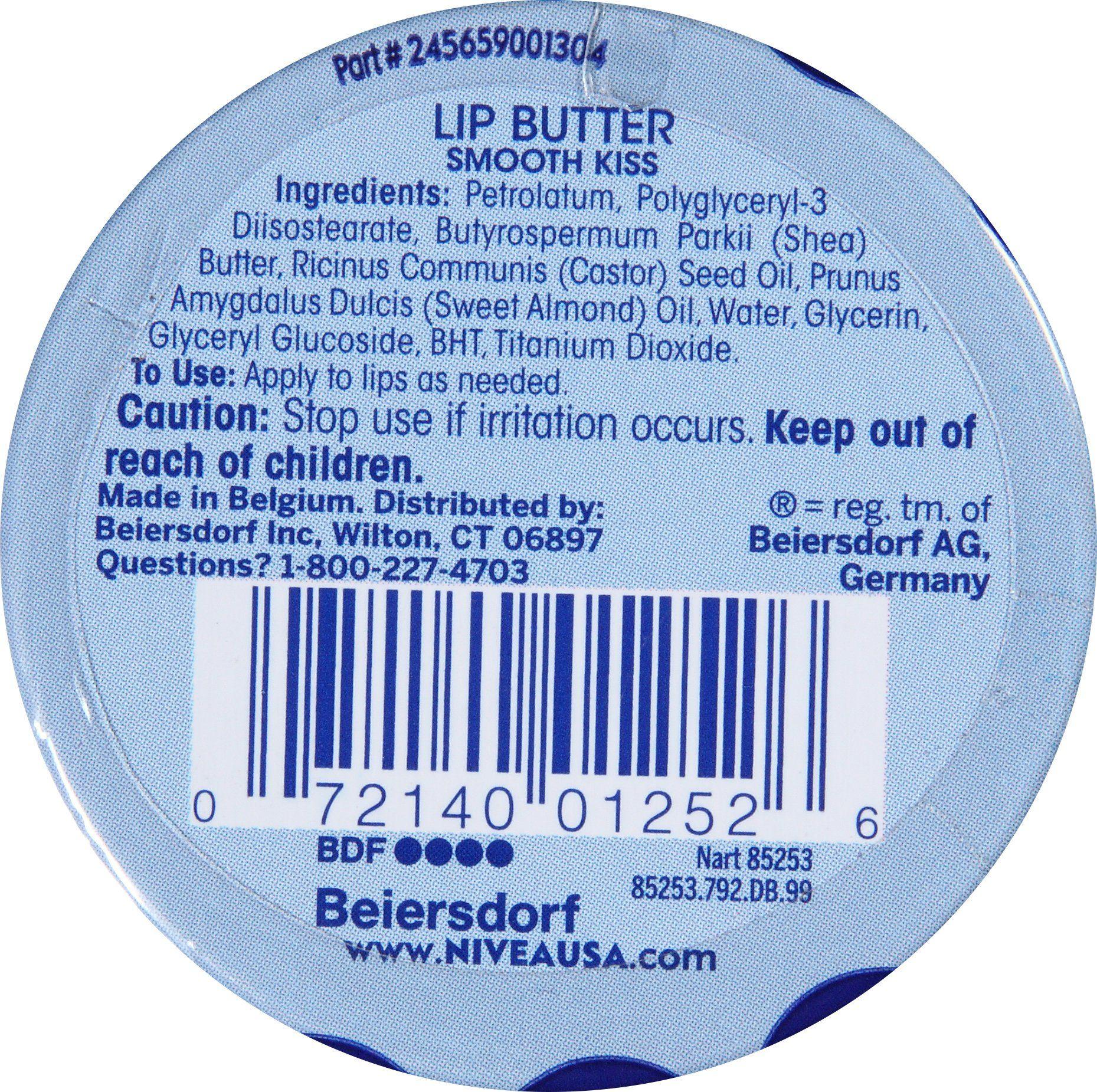 Nivea lip butter loose tin smooth kiss 059 ounce want