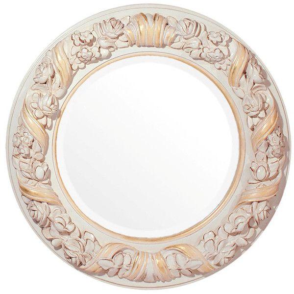 savio firmino hand carved flower mirror ($674) ❤ liked on, Innenarchitektur ideen