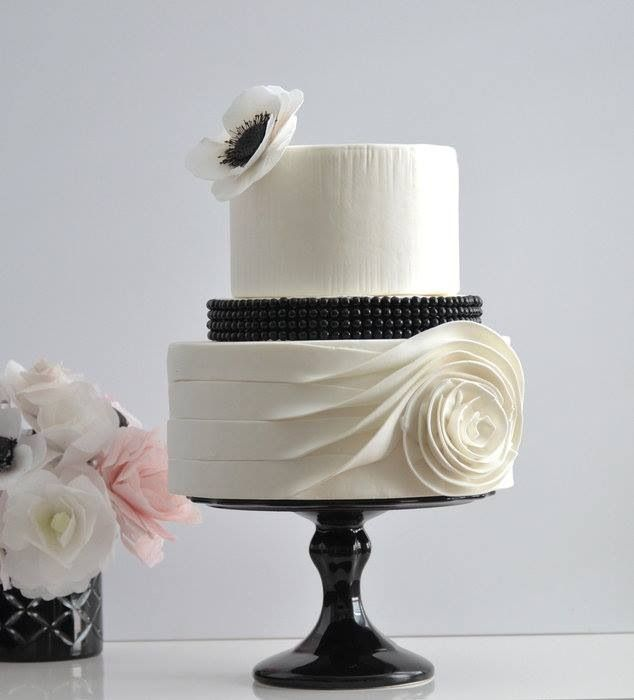 Sophisticated cake!