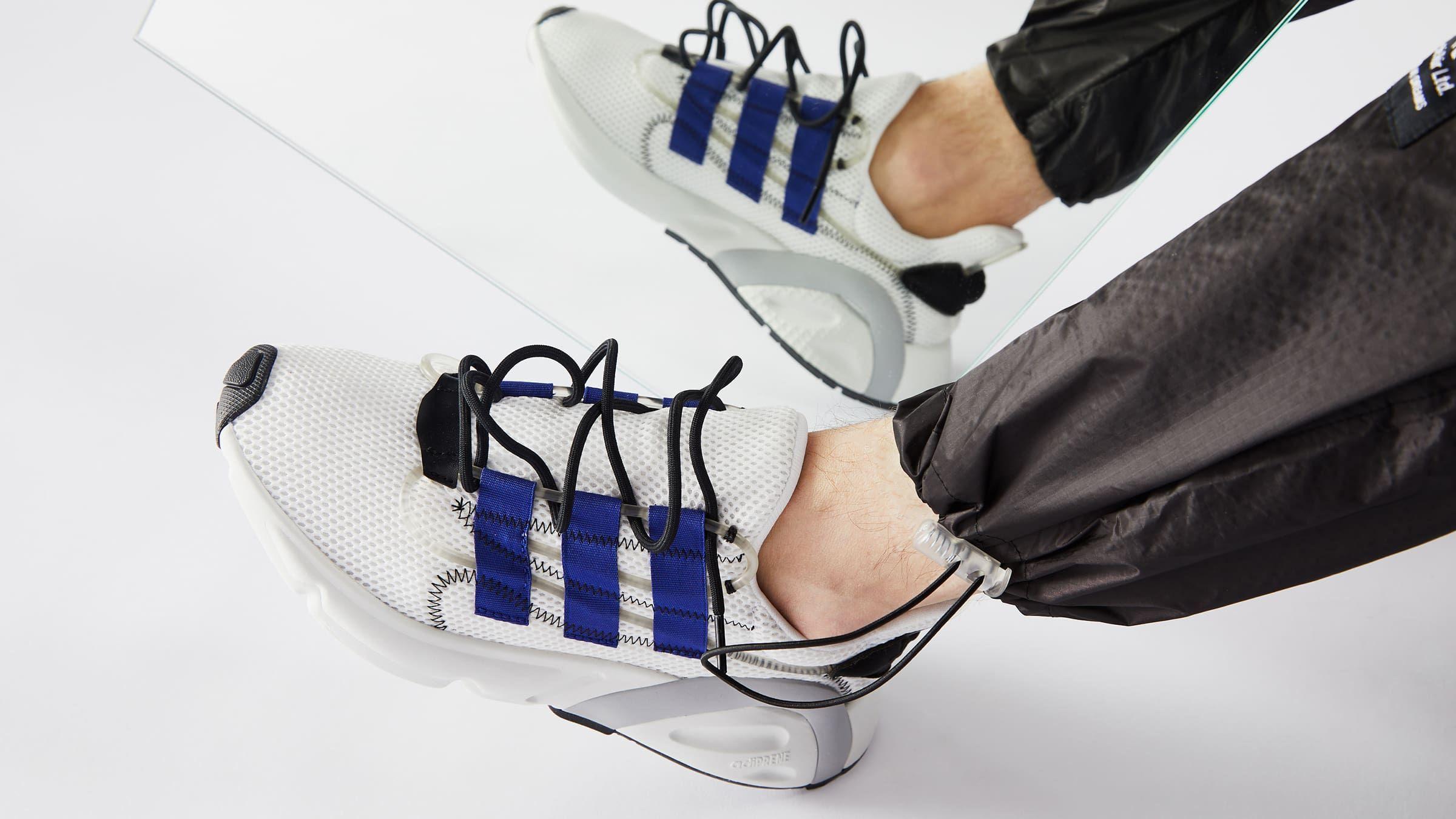 Adidas LXCON (White, Active Blue