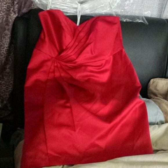 4864d702c3 David s Bridal Dresses   Skirts - Red Dress