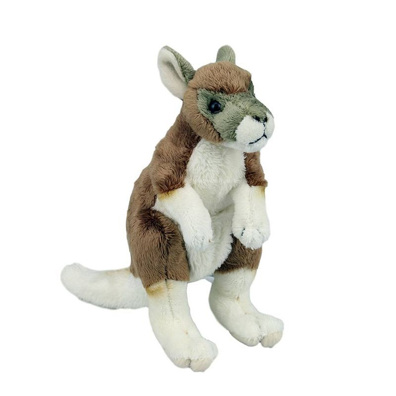 National Geographic Kangaroo Baby 17cm Plush Toy National