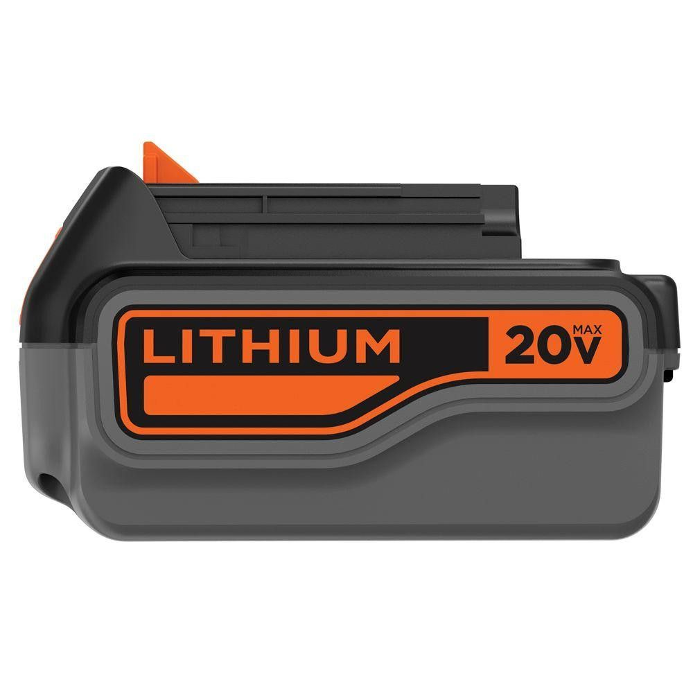BLACK+DECKER LB2X4020-OPE 20-Volt Max 4.0 Ah Lithium-Ion Battery Pack 204989243