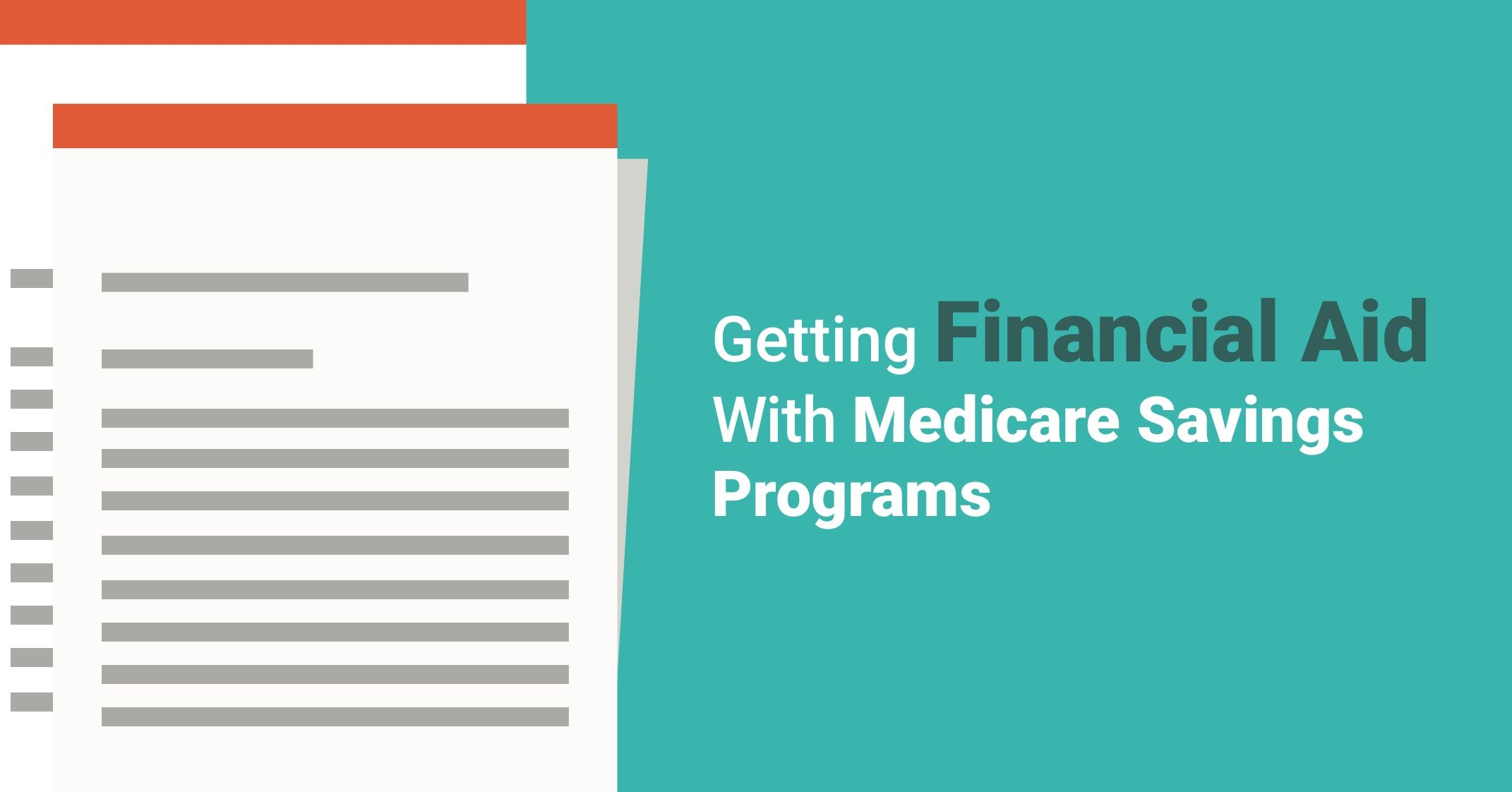 Getting financial aid with medicare savings programs learn