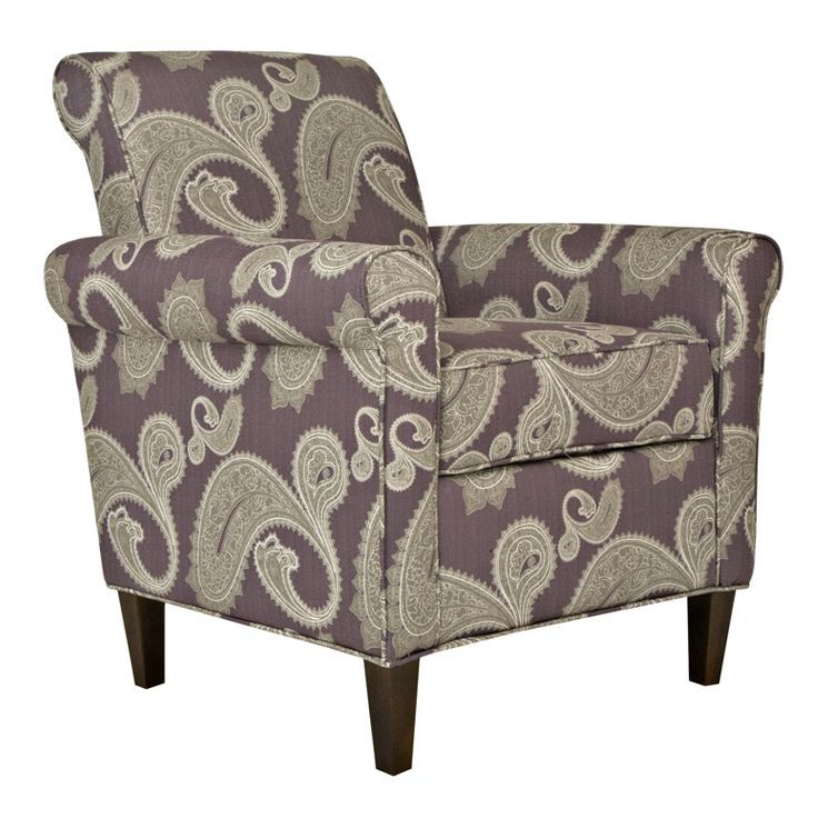 Best Harlow Paisley Chair In Purple Paisley Chair Cheap 400 x 300
