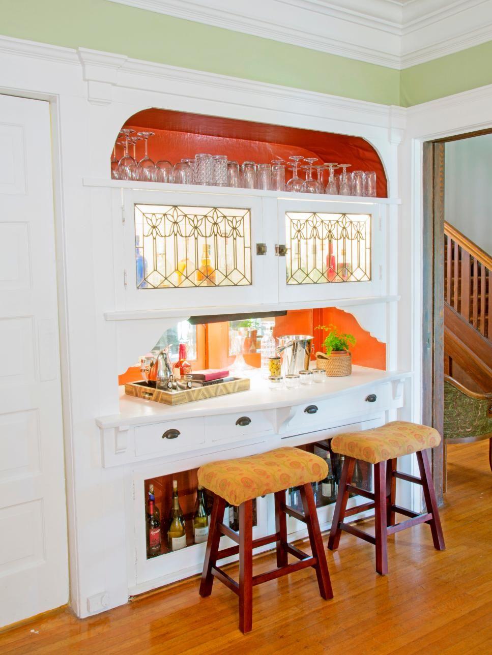 Home Bar Ideas: 89 Design Options | Pinterest | Wine shelves, Hgtv ...