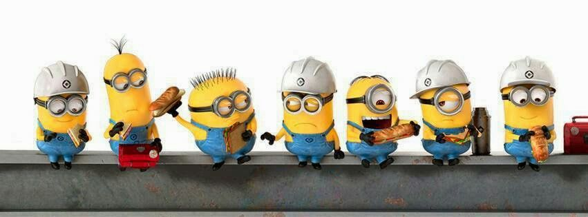 Minion Construction Workers Minions Minions And More Minions