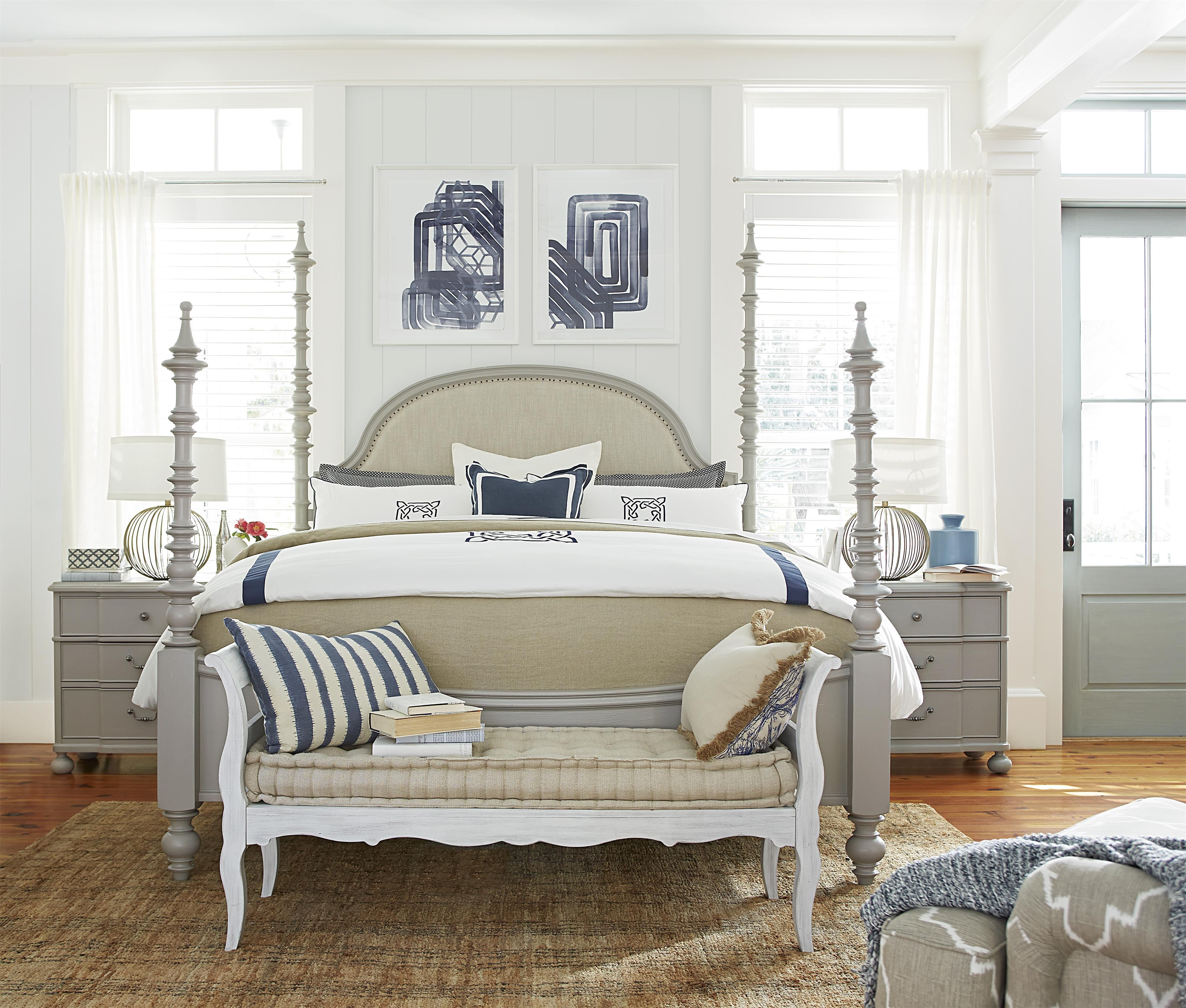 Dogwood Queen Bedroom Group by Paula Deen by Universal