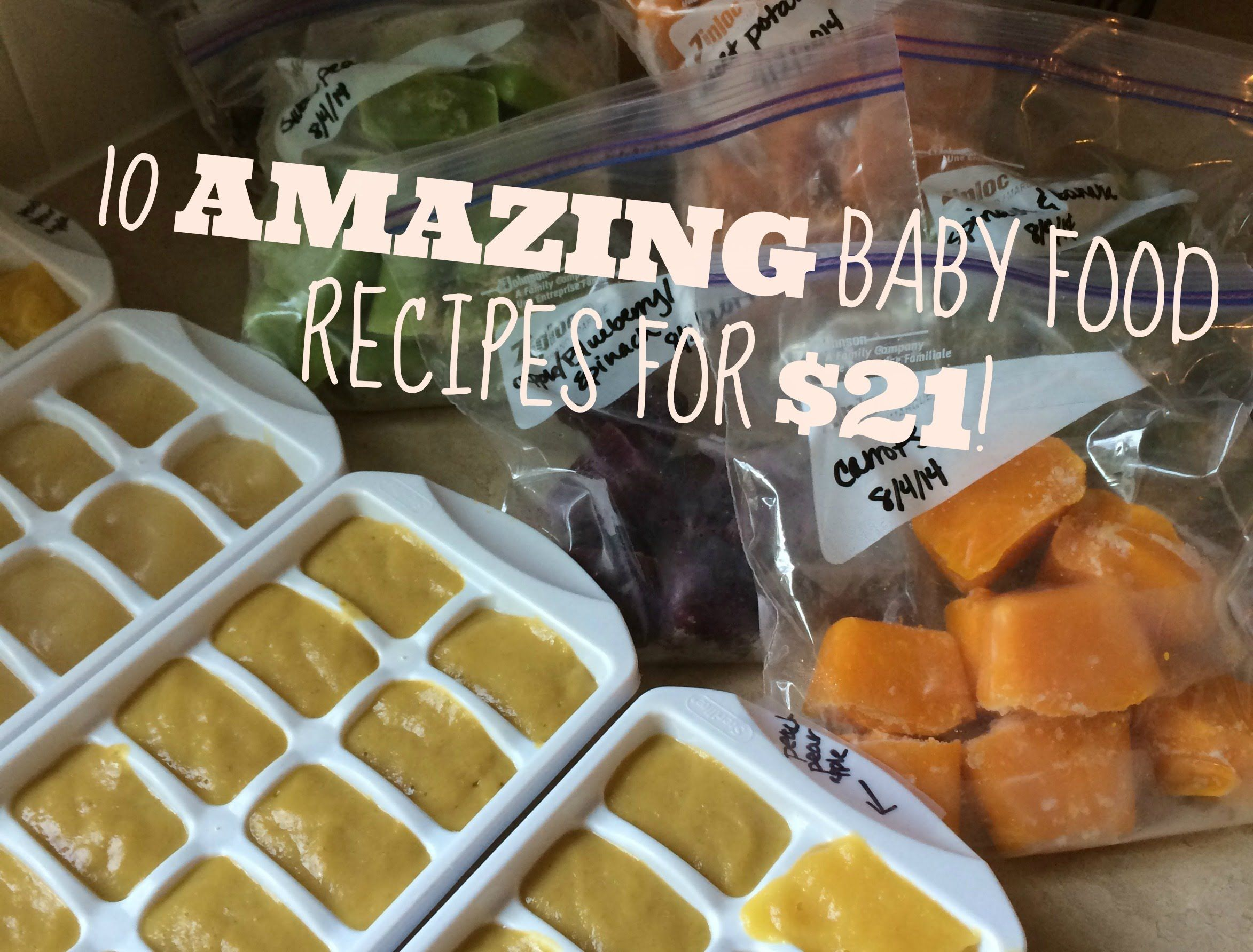 10 homemade baby food recipes for 2195 youtube baby oliver 10 homemade baby food recipes for 2195 youtube forumfinder Gallery