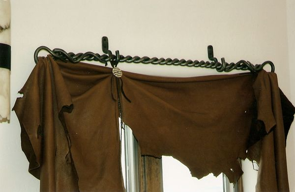 Curtain Rods cowboy curtain rods : 17 Best images about Window treatments on Pinterest | Curtain rods ...