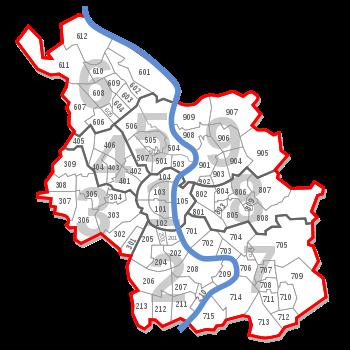 Köln karte stadtteile